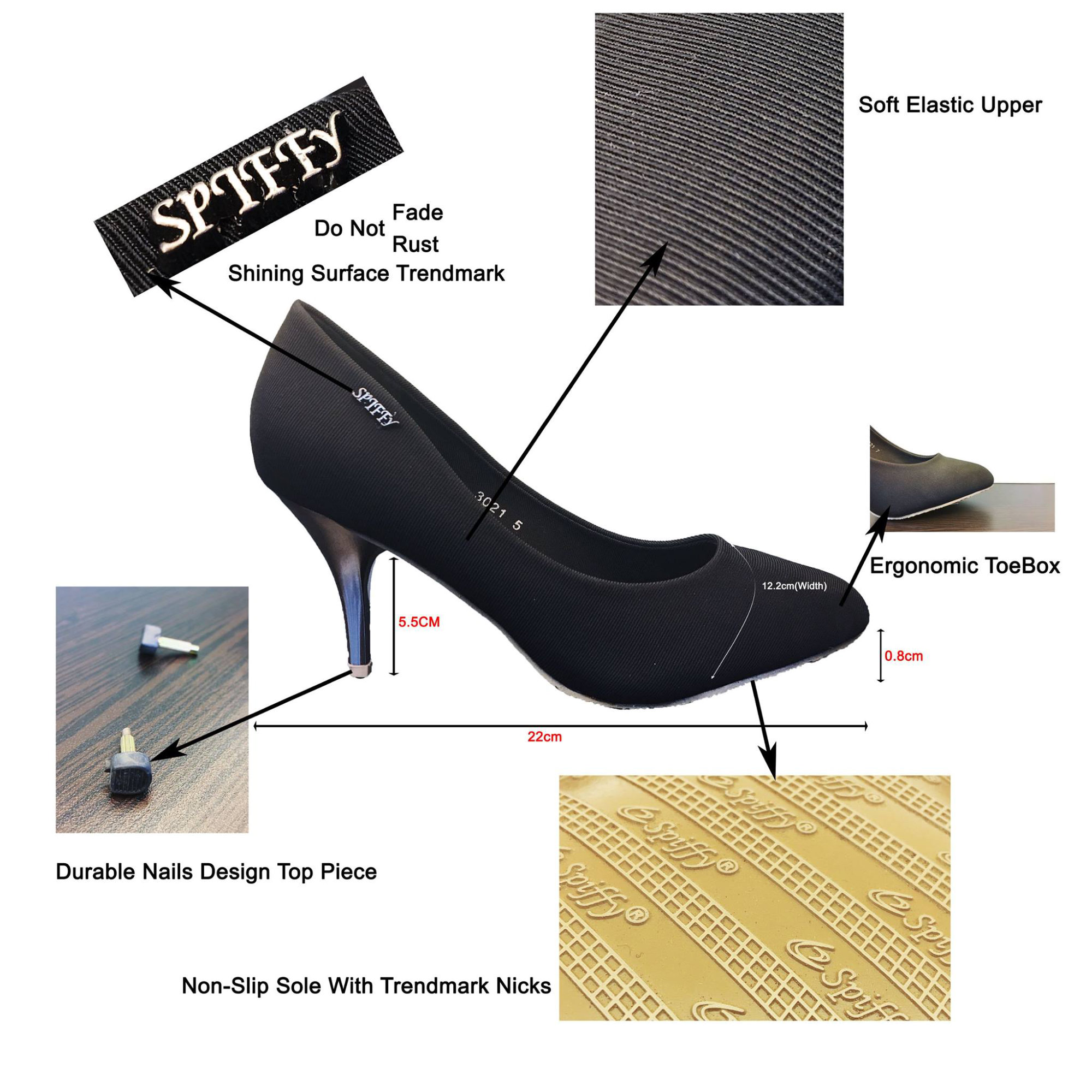 Spiffy Shoes Sales Malaysia for With You Club Members Wear This Shoes and be the Star on the night Office Wear How much do you know about our High Heels Spiffy Shoes F01.jpg