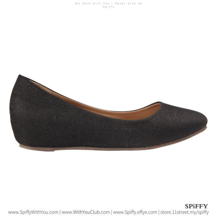 Fashion Modern Malaysia Sandal Doll Shoes 时尚娃娃鞋 Spiffy Brand ZMF8443010 Black Colour Shoe Ladies Lady Leather High Heels Wedges Shoes Online Shopping 11Street Lazada 01