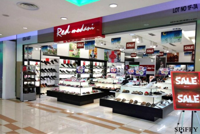 Red Modani Store at Palm Mall Kompleks T K Tan Kemayan Square Jalan Sungai Ujong Spiffy Fasshion Shoes A02
