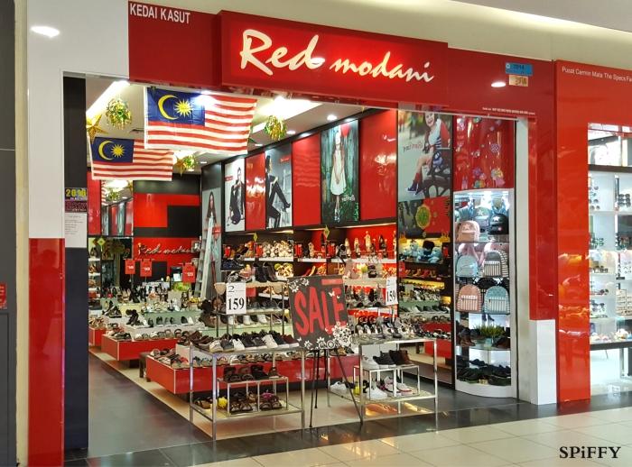 KSL City Mall Johor Bahru Malaysia Red Modani Branch Spiffy Fasshion Shoes A02