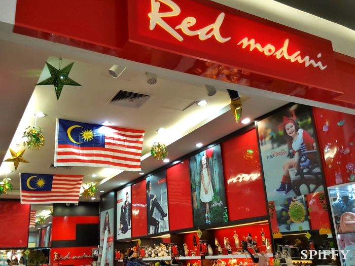 KSL City Mall Johor Bahru Malaysia Red Modani Branch Spiffy Fasshion Shoes A06